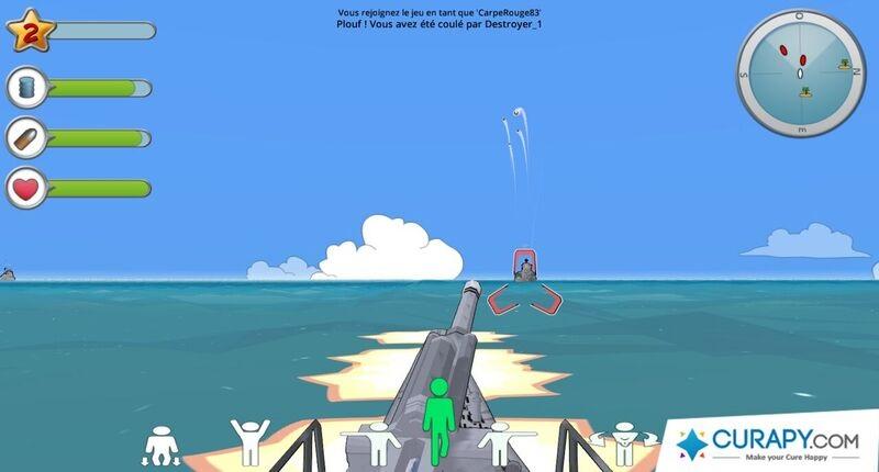 Jeux vidéo thérapeutique X-Torp, groupe Genious