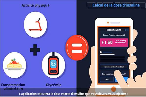 Capture d'écran de la vidéo de présentation de DiabiLive