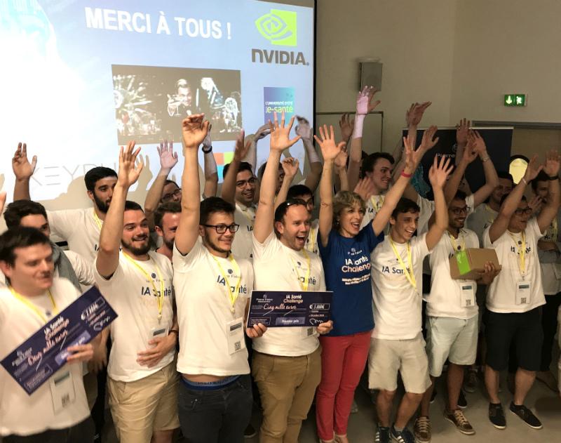 Les lauréats de la 2ème édition de l'IA Challenge
