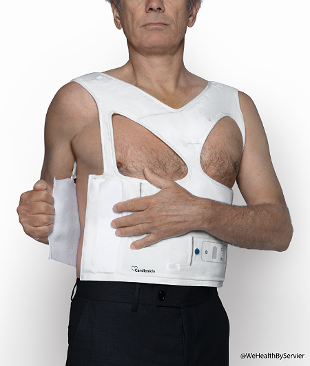 T-shirt Cardioskin (crédit : WeHealth by Servier)