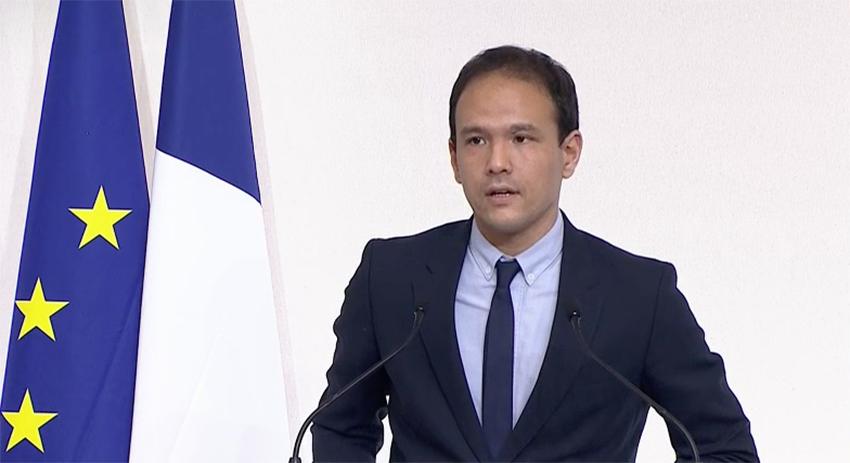 Le secrétaire d'Etat chargé de la transition numérique, Cédric O